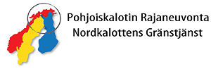 Pohjoiskalotin Rajaneuvonta logo.